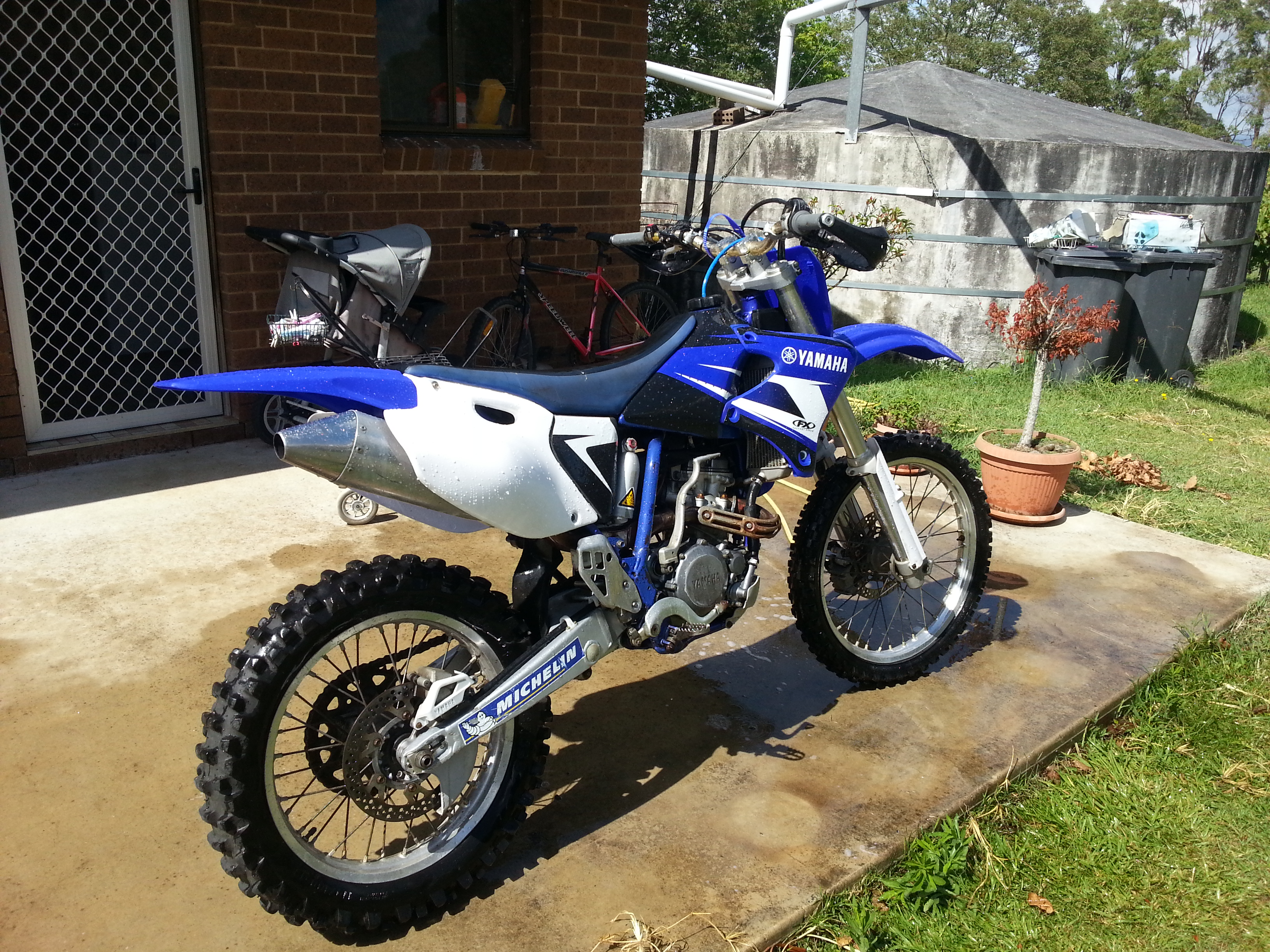 2002 yamaha wr250f for sale or swap nsw regional