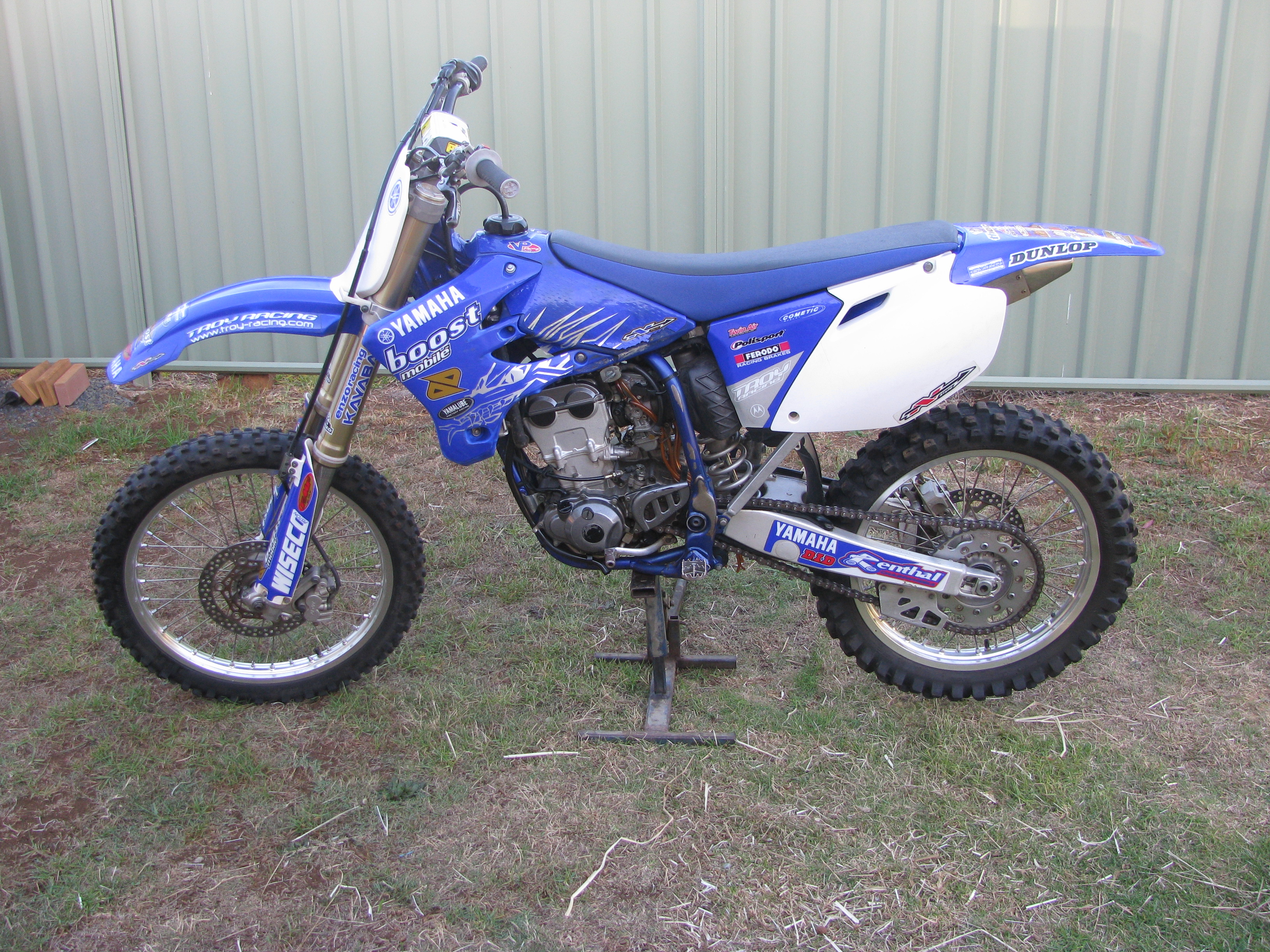 2005 yamaha yz250f for sale qld darling downs for Yamaha yz250f for sale