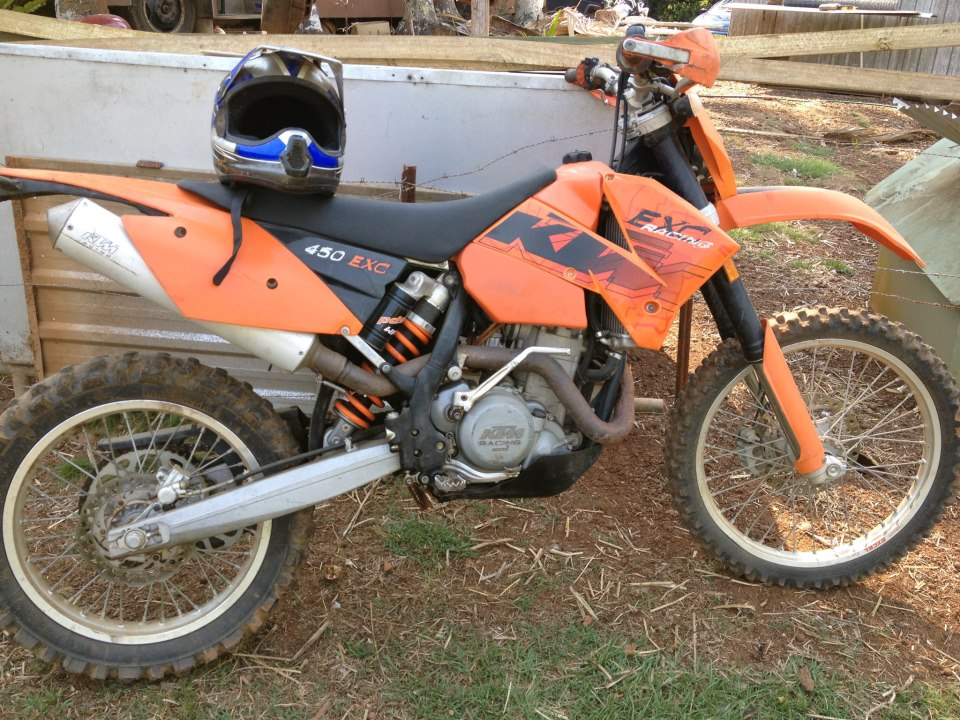 2006 ktm 450 exc racing my07 for sale nsw far north coast. Black Bedroom Furniture Sets. Home Design Ideas