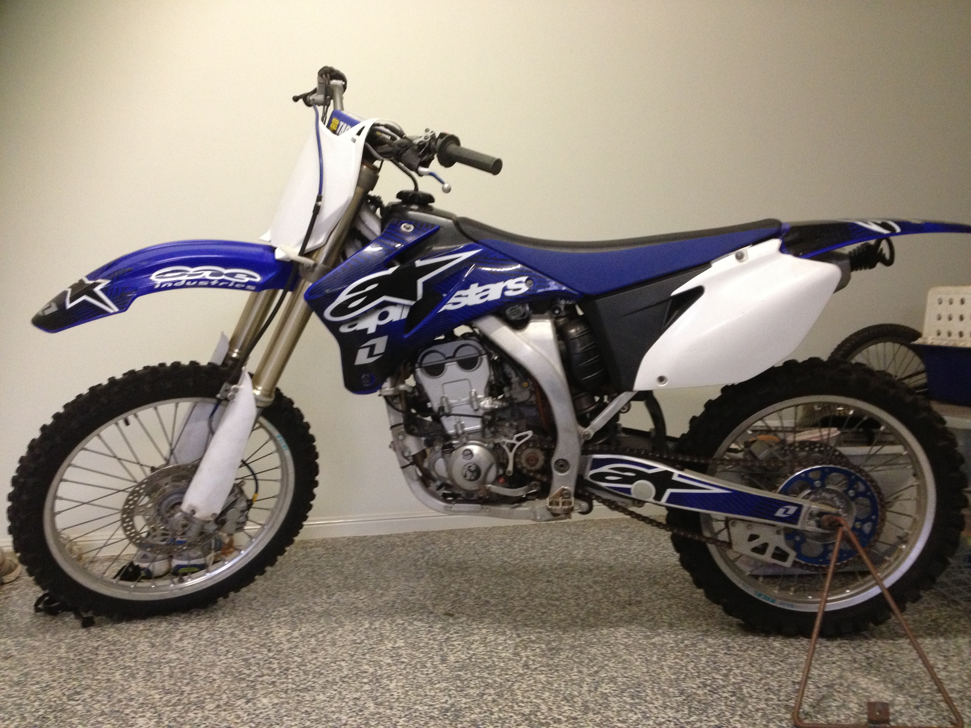 2007 yamaha yz250f for sale qld brisbane north for Yamaha yz250f for sale
