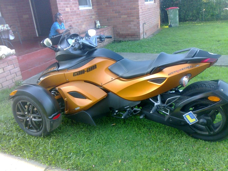 2011 Can-am Spyder Roadster RSS SE5