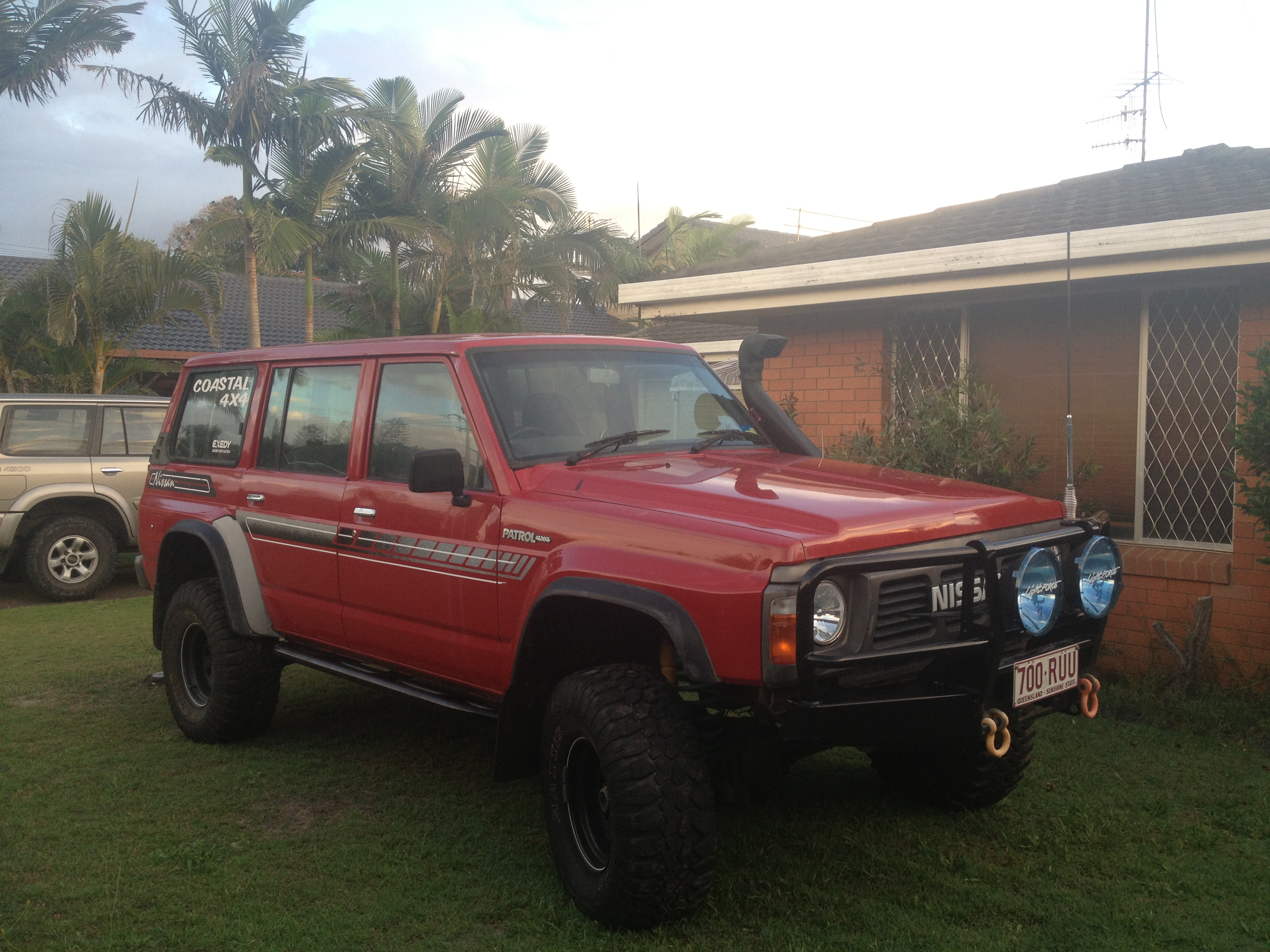 1989 nissan patrol 4x4 for sale qld gold coast. Black Bedroom Furniture Sets. Home Design Ideas
