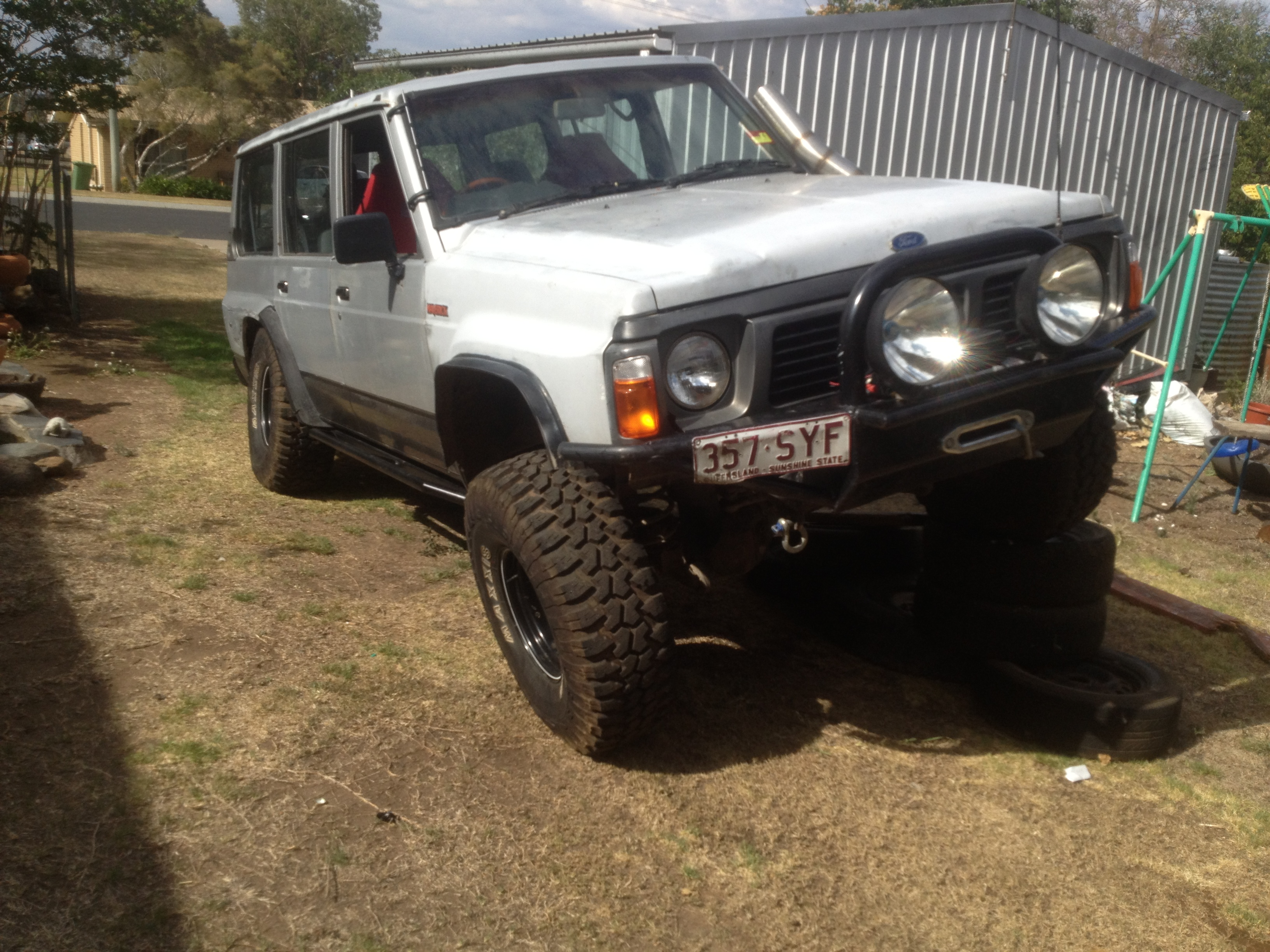 1990 ford maverick 4x4 car sales qld darling downs. Black Bedroom Furniture Sets. Home Design Ideas