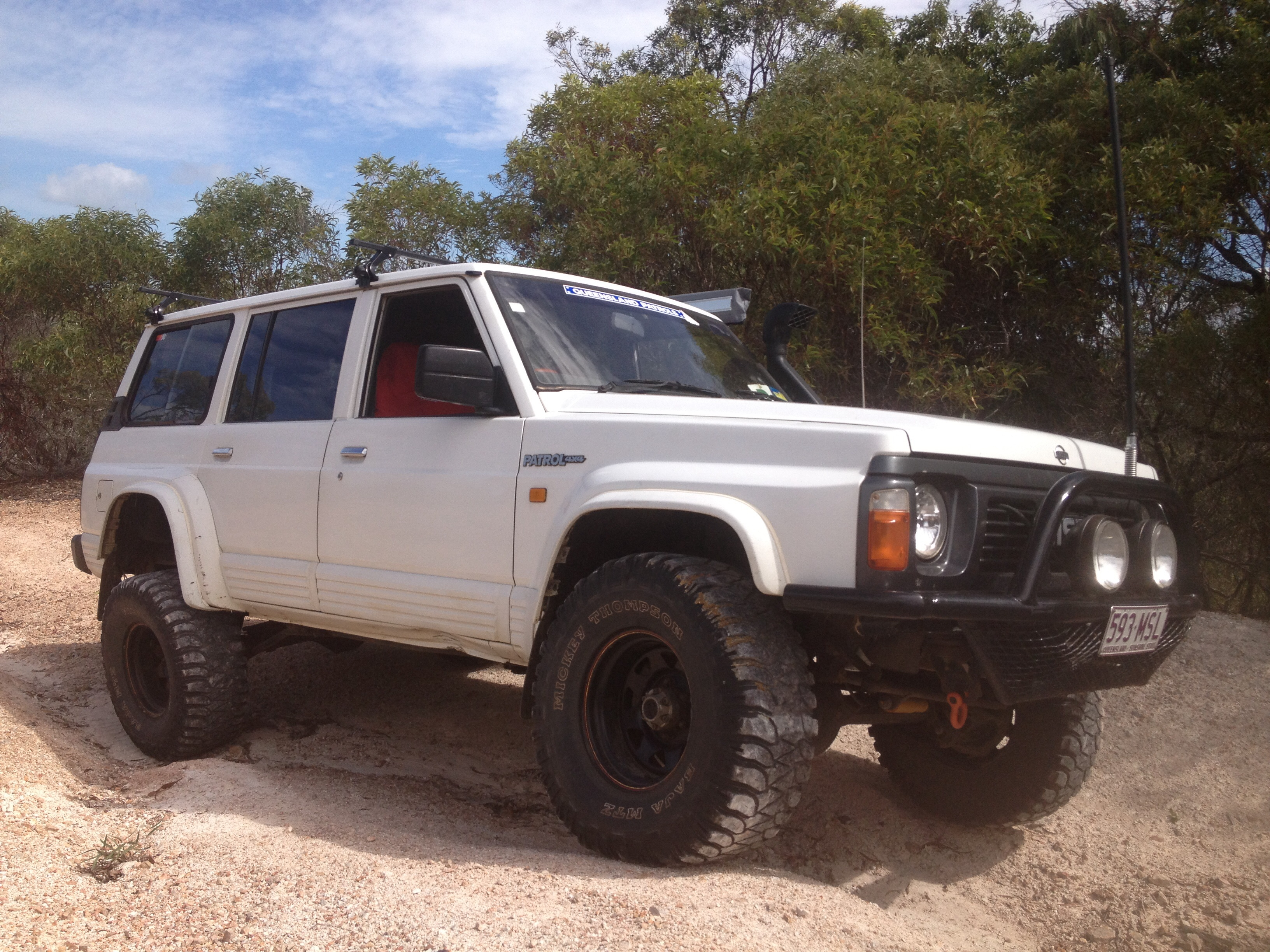 1992 nissan patrol 4x4 for sale or swap qld rockhampton. Black Bedroom Furniture Sets. Home Design Ideas