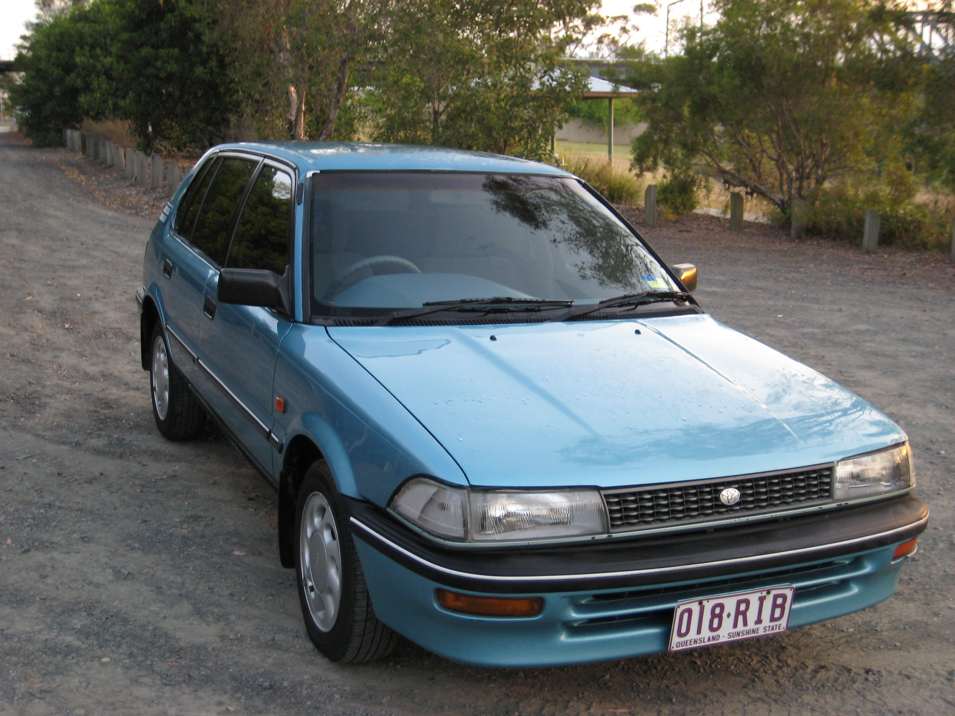 1992 toyota corolla se ae92 car sales qld brisbane west. Black Bedroom Furniture Sets. Home Design Ideas