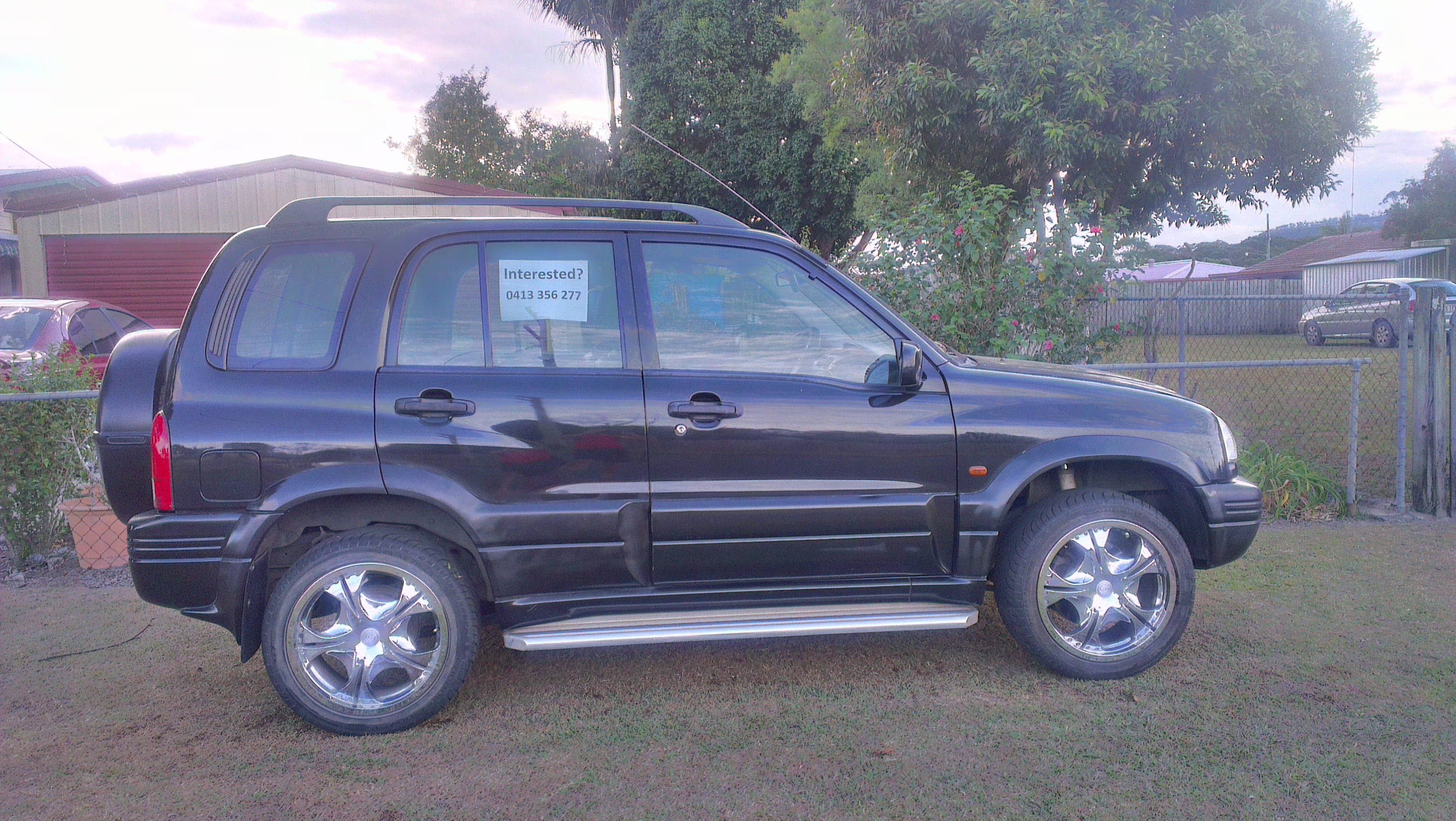1999 suzuki grand vitara limited edition 4x4 car sales. Black Bedroom Furniture Sets. Home Design Ideas