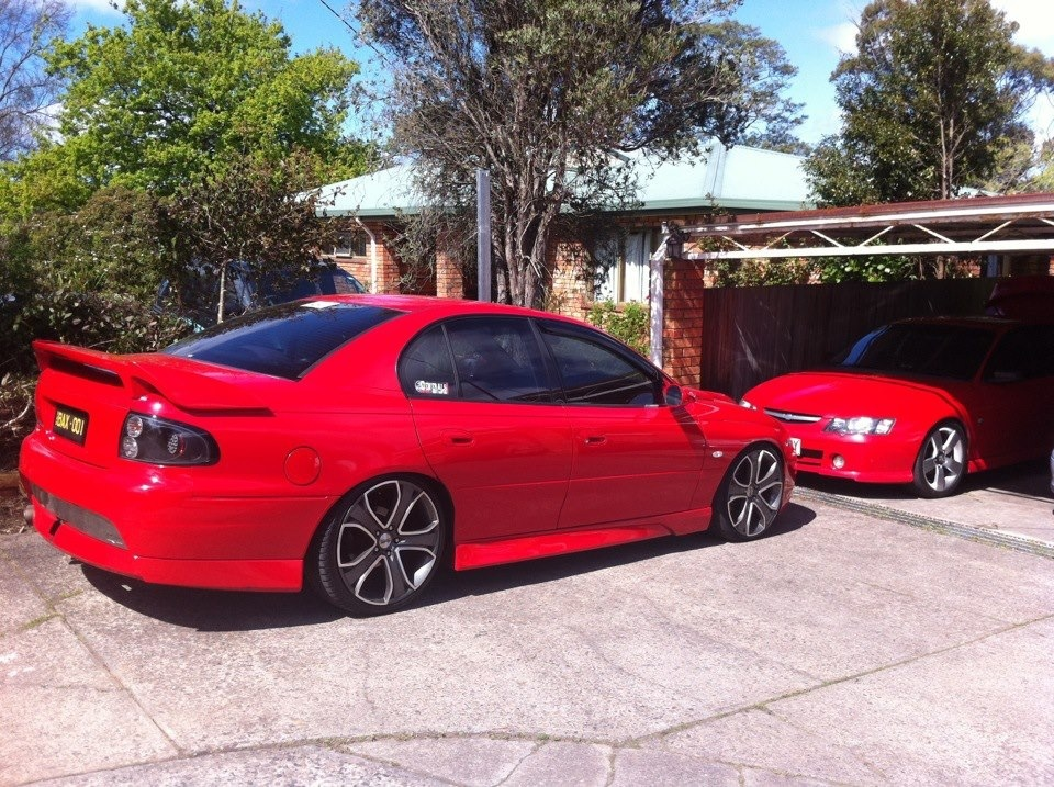 2001 Holden Commodore SS VX