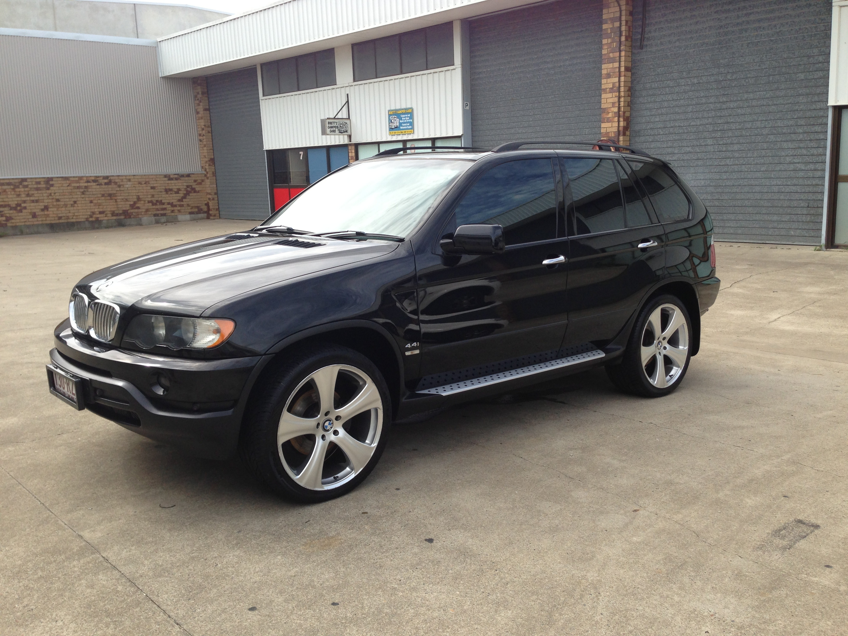 2002 bmw x5 4 4i e53 car sales qld brisbane north. Black Bedroom Furniture Sets. Home Design Ideas