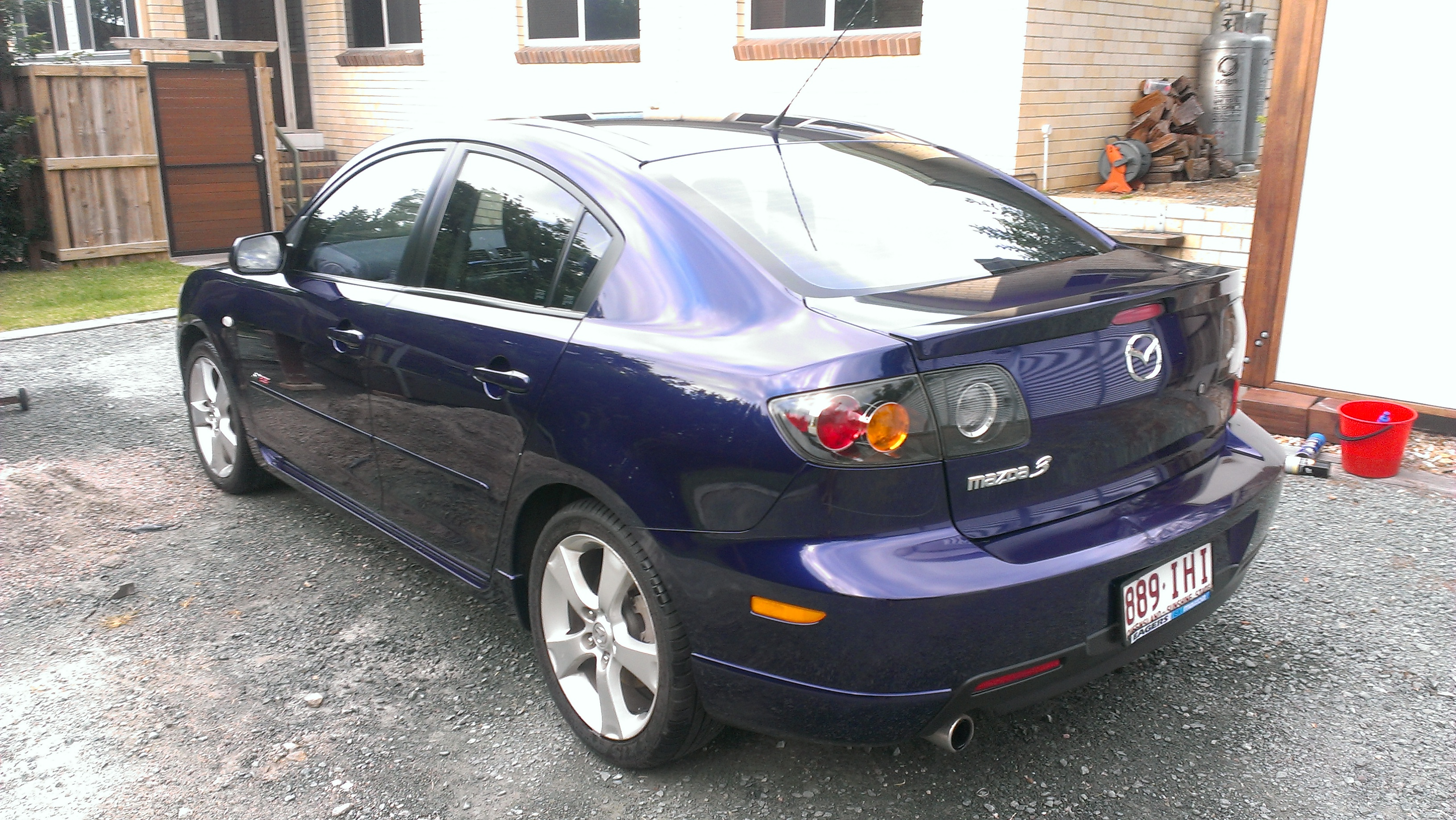 2004 mazda 3 for sale qld brisbane north. Black Bedroom Furniture Sets. Home Design Ideas
