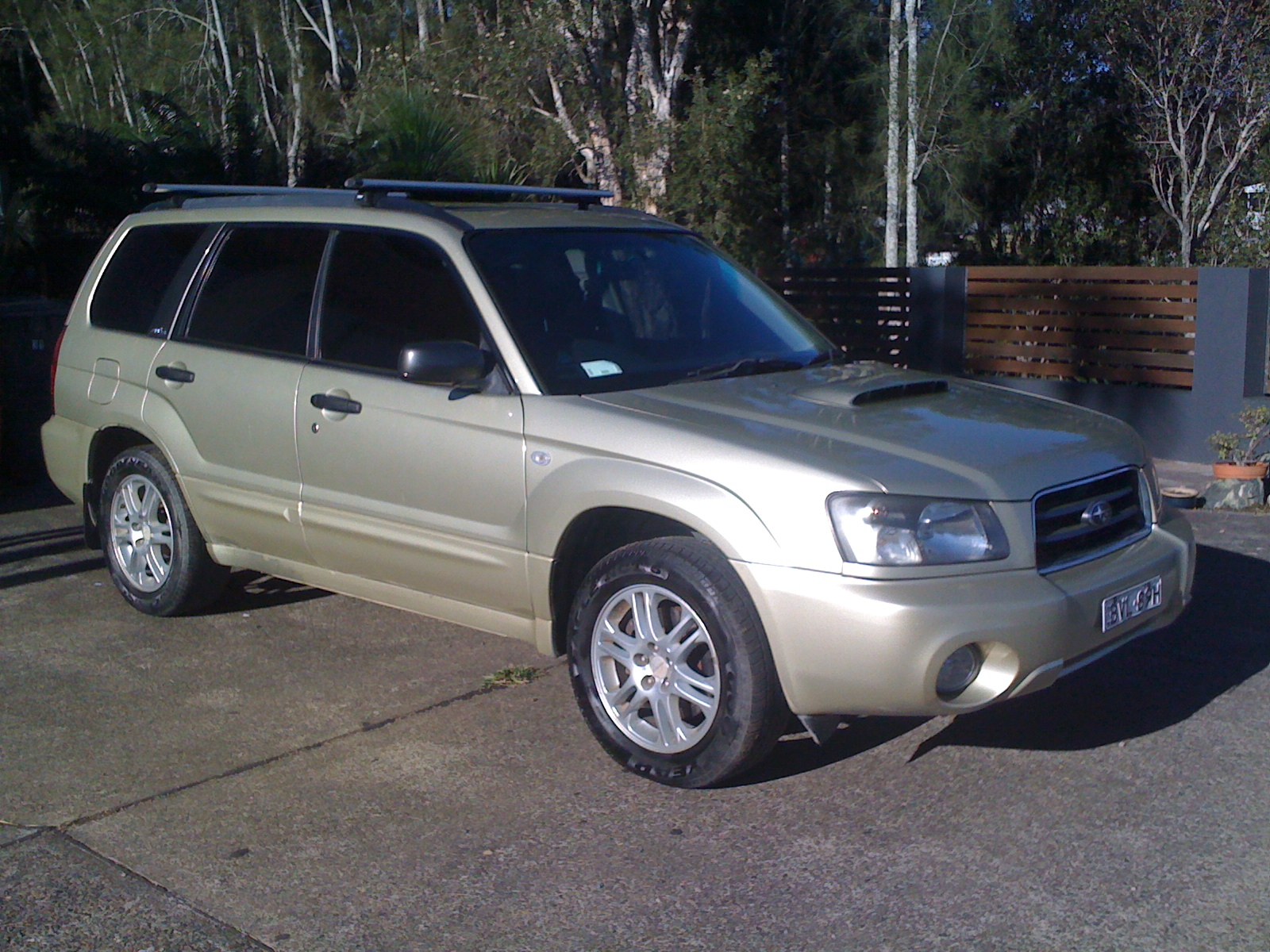 2004 Subaru Forester Xt Luxury My04 For Sale Nsw Mid