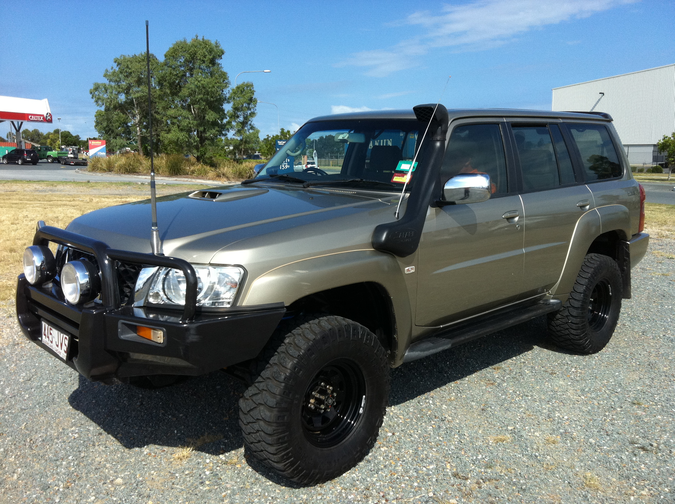 2006 nissan patrol st 4x4 gu iv car sales qld brisbane south. Black Bedroom Furniture Sets. Home Design Ideas