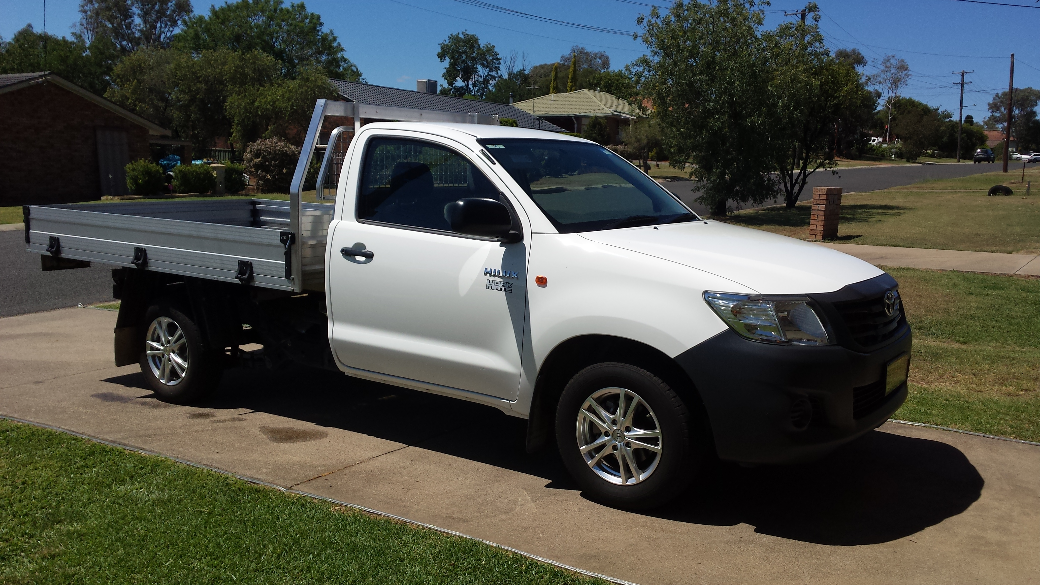 2012 Toyota Hilux Workmate Tgn16r My12 For Sale Nsw
