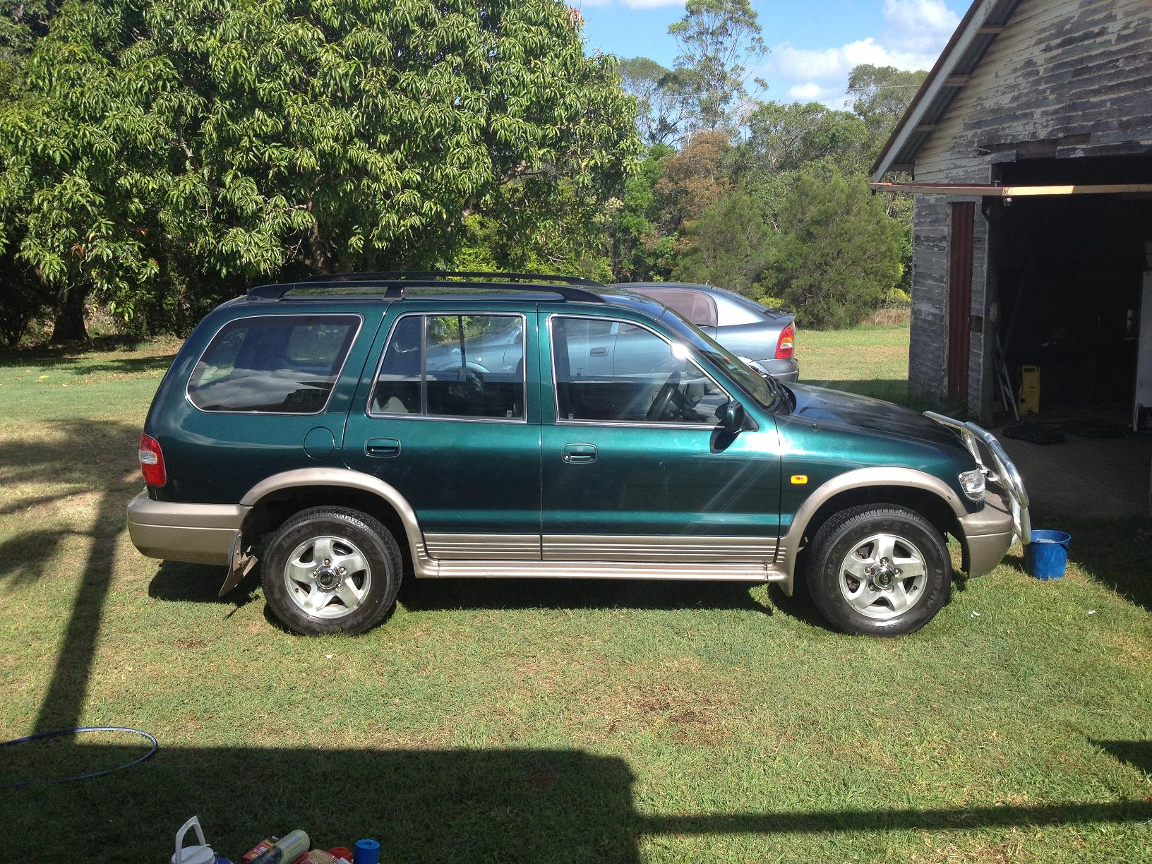 2000 kia sportage 4x4 car sales qld sunshine coast. Black Bedroom Furniture Sets. Home Design Ideas
