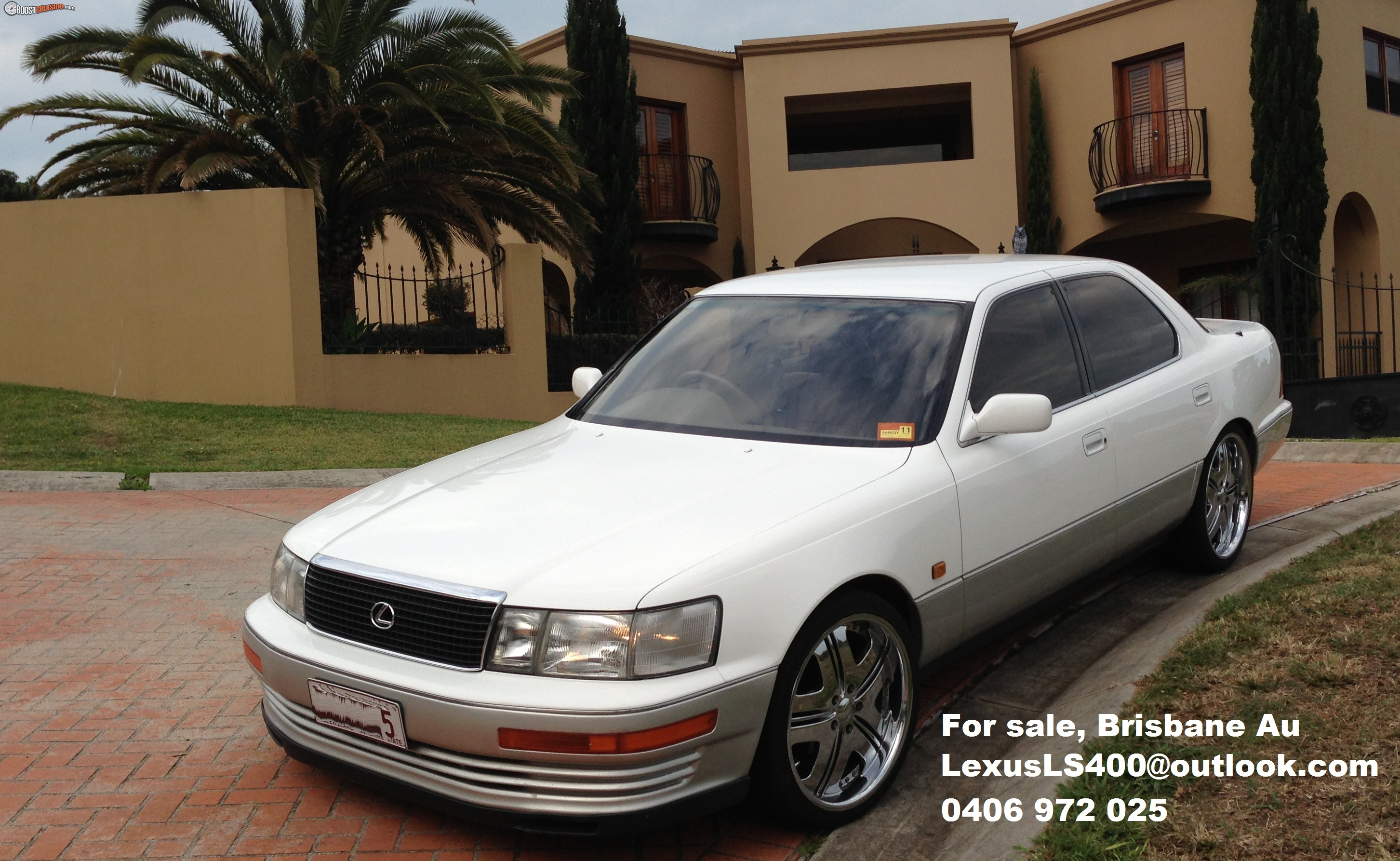 1990 lexus ls400 ucf10r car sales qld brisbane east. Black Bedroom Furniture Sets. Home Design Ideas