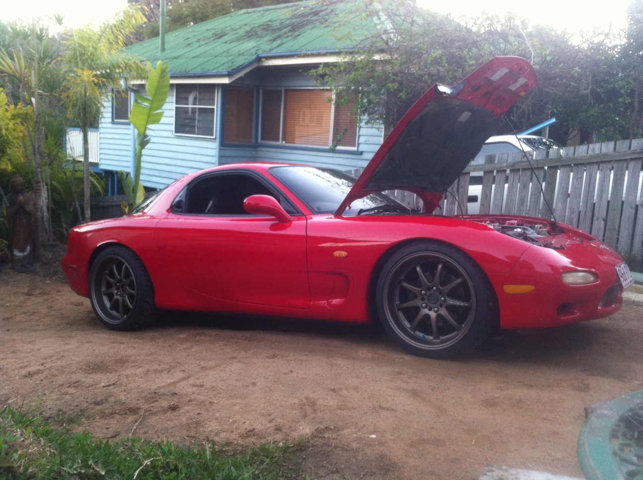 1995 mazda rx7 twin turbo for sale qld regional. Black Bedroom Furniture Sets. Home Design Ideas