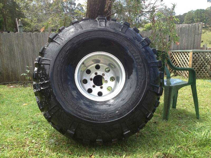 44inch super swampers mud tires wheels tyres qld. Black Bedroom Furniture Sets. Home Design Ideas